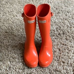 Hunter Boots US size 2